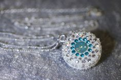 Swarovski Crystals White Crystal Clay Epoxy Clay by blingstuffshop, $25.00