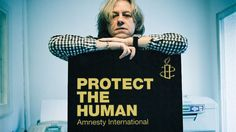Bob Geldof means business when it comes to protecting the human.
