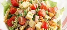 Helppo kinkku-juustosalaatti | Pääruoat | Reseptit – K-Ruoka My Cookbook, Eat To Live, People Eating, Pasta Salad, Side Dishes, Food And Drink, Healthy Recipes, Healthy Food, Baking