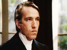 Alan Rickman in one of his finest onscreen roles, as Obadiah Slope in The Barchester Chronicles.