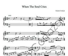 When The Soul Cries Sheet Music - Ernesto Cortazar