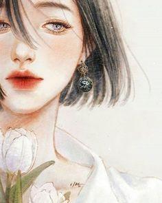 59 New Ideas Drawing Girl Sad Sketches Art Moon Sketches, Art Sketches, Anime Art Girl, Manga Girl, Anime Girls, Aesthetic Anime, Aesthetic Art, Beautiful Anime Girl, Cute Drawings