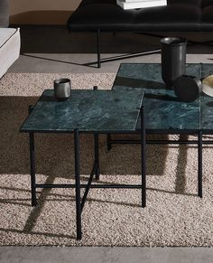 From the massive Dining Table 230 to the critically acclaimed Desk in black marble, all HANDVÄRK tables are meticulously designed in Denmark and characterized by aesthetic sustainability: a timeless object in a quality that lasts a lifetime. Green Marble, Black Marble, End Tables, Goat, Dining Table, The Originals, Furniture, Design, Home Decor