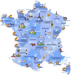 Map Of France Photo: This Photo was uploaded by MargheritaDaisy. Find other Map Of France pictures and photos or upload your own with Photobucket free i. France 3, Visit France, Paris France, Map Of France, French Language Lessons, French Lessons, Francia Paris, French Kids, Map Pictures
