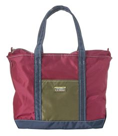 Find the best Everyday Tri-Color Tote at L. Our high quality bags and amp; travel gear is designed to go the distance. Ll Bean, Gym Bag, Monogram, Tote Bag, Retro, Bags, Products, Totes, Handbags