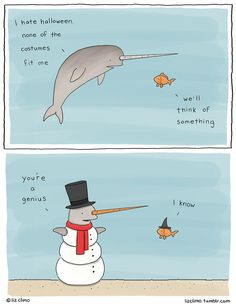 Animal Comics by Simpsons artist Liz Climo