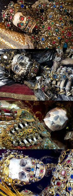 Unbelievable Skeletons Unearthed From The Catacombs Of Rome