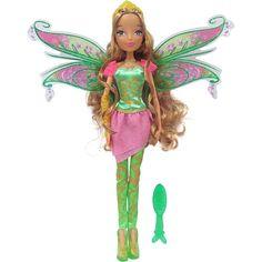 """Winx Club 11.5 Inch Bloomix Doll - Flora - Jakks HK Ltd. - Toys """"R"""" Us"""