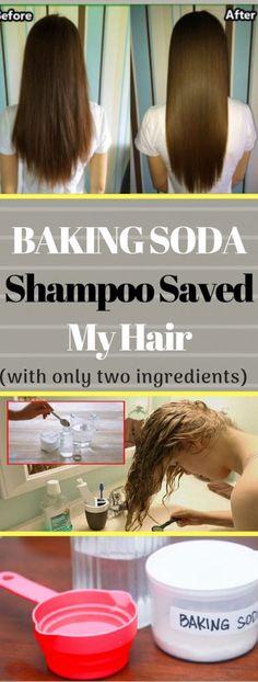 This Baking Soda Shampoo Saved My Hair - Baking Soda Dry Shampoo, Baking Soda For Dandruff, Baking Soda Baking Powder, Apple Cider Vinegar Shampoo, Honey Shampoo, Baking Soda Vinegar, Baking Soda Water, Baking Soda Uses, Natural Shampoo