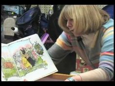 On Jan Brett's YouTube channel, the artist and author teaches you how to draw some of the characters from her books.