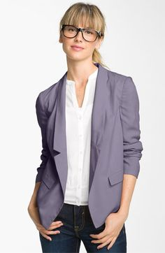 Frenchi® Drop Lapel Blazer (Juniors) available at #Nordstrom