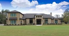 New custom home overlooking Lake Palestine in Texas ... from Trent Williams Construction Management