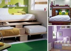 - Murphy bed plans are an easy and space-saving way to have the comfort of whichever size bed you may want, but without the space problem. This bed plan. Cama Murphy, Diy Casa, Murphy Bed Plans, Murphy Beds, My New Room, Space Saving, Home Interior Design, Diy Interior, Kids Bedroom
