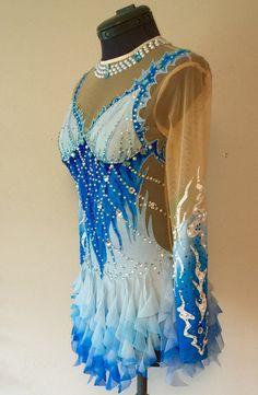 Rhythmic Gymnastics Competition Costume SOLD