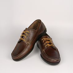 001c617c0cd Rancourt ranger mocs in dark brown chromexcel. Handmade Leather Shoes