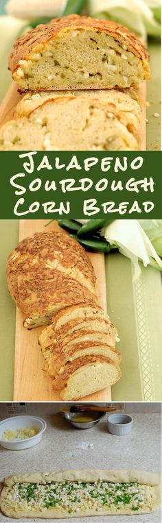 Spice up your sourdough bread with Jalapeno peppers. This hearty loaf needs no condiments. It's a snack-worthy bread. #Breadbakers