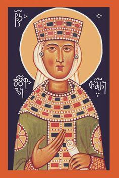 Св. царица Тамара Грузинская икона