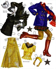Hollywood Style of The 60s 70s 80s Paper Doll by David Wolfe - Katerine Coss - Picasa Webalbum