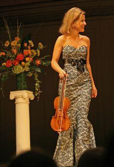 Anne Sophie Mutter, violinist