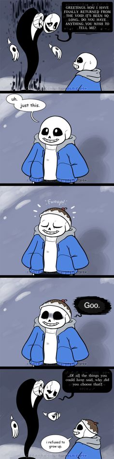 Sans Serifing! Tumblr link: sansserifing.tumblr.com/post/1… He was disappointed to learn what Sans was actually trying to say. Follow @sansserifing for comics and other conten...