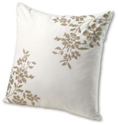 18 x 18 Oversized Floral Decorative Pillow Cover asian pillows