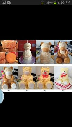 Bear cake.  hmmm maybe take some hints from here.