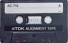 TDK Alignment Tape AC-712