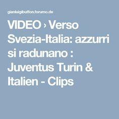 VIDEO  › Verso Svezia-Italia: azzurri si radunano : Juventus Turin & Italien - Clips Italia