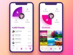 Fame Lab Notifications by Yaroslav Zubko Web Design, Layout Design, Ios App Design, Dashboard Design, User Interface Design, Flat Design, Ui Design Tutorial, Design Websites, Portfolio Design