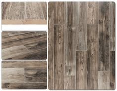 Laminate - 12mm French Country Estate Collection - Provence French Grey - This may look really brown, but it would pull out the dark and cool colors with your coordinating colors and might keep space warm while not getting too dark (just an idea :))