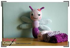Sabrina's Crochet - Free crochet pattern Dragonfly