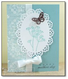 Blue Silhouettes kth by kthaman - Cards and Paper Crafts at Splitcoaststampers