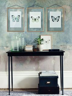 With striking colours and undeniable detail, each of our entomological prints features a quality macro photograph of a butterfly. Carefully framed in our Scandinavian large oak frames, our butterfly prints are digitally produced on high quality matte paper to emphasis the detail, sharpness and colour of each design. Each set includes the iconic cabbage white, bold blue wanderer and striking green mother of pearl butterfly, which look great displayed throughout your home or teamed together…