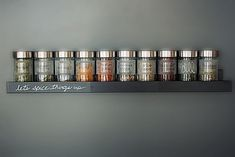 A Sleek, Wall-Mounted Spice Rack - IKEA Hackers - IKEA Hackers