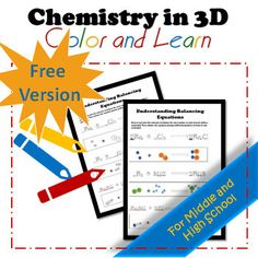 Get this worksheet and my whole store FREE! It is so hard for many students to understand why we balance equations at first. I created this 3D coloring worksheet to illustrate the difference in coefficients and subscripts in chemical equations. ~~~~~~~~~~~~~~~~~~~~~~~~~~~~~~~~~~~~~~~~~~~~~~~~~~~~~~...