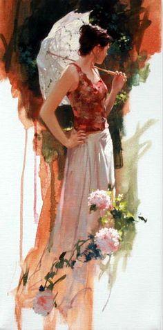 Women in art: Красивите жени на Richard S. Johnson