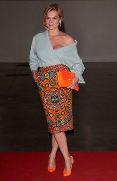 Print Culture --- African print skirt