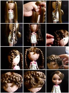 Braided Chignons, via Flickr.