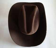 636d863f1f334 VINTAGE BROWN Felt WESTERN RODEO COWBOY HAT RESISTOL Americana Riding  Horses  fashion  clothing