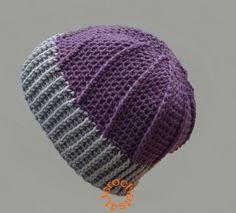Gratis haakpatroon muts in alle maten Crochet Hooded Cowl, Crochet Cardigan, Knit Or Crochet, Chrochet, Crochet Shawl, Crochet Hooks, Scarf Hat, Online Gratis, Diy Clothing
