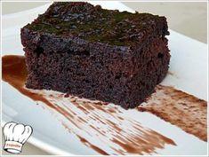 Η ΚΑΛΥΤΕΡΗ ΣΟΚΟΛΑΤΟΠΙΤΑ!!! - Νόστιμες συνταγές της Γωγώς! Brownie Bar, Greek Recipes, Cake Cookies, How To Make Cake, Deserts, Dessert Recipes, Cooking Recipes, Sweets, Snacks