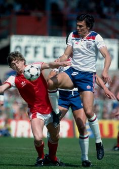 Home International Football, Wales v England, Trevor Brooking puts pressure on Ian Walsh. Get premium, high resolution news photos at Getty Images England International, International Football, Trevor Brooking, England National, England Football, Retro Football, Football Pictures, West Ham, Football Players