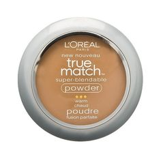 L'Oréal Paris True Match Super-Blendable Powder (€7,34) ❤ liked on Polyvore featuring beauty products, makeup, face makeup, face powder and l'oréal paris