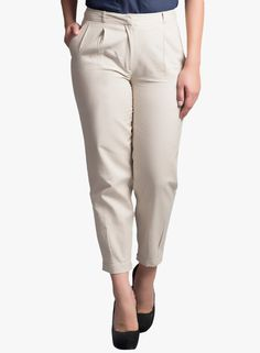 Buy Fabels by fabindia Cream Solid Pant for Women Online India, Best Prices, Reviews | FA050WA74HNLINDFAS