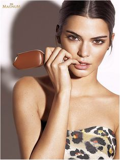 Kendall Jenner for Magnum Double Iice Cream Campaign 2016