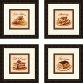 Found it at Wayfair - Pro Tour Memorabilia Kitchen Torta Alpine 4 Piece Framed Vintage Advertisement Set
