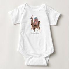 Cute Llama Animal   Baby Boy   Bodysuit - animal gift ideas animals and pets diy customize