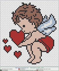 Thrilling Designing Your Own Cross Stitch Embroidery Patterns Ideas. Exhilarating Designing Your Own Cross Stitch Embroidery Patterns Ideas. Cross Stitch Angels, Cross Stitch Bookmarks, Cross Stitch Art, Cross Stitching, Cross Stitch Embroidery, Learn Embroidery, Hand Embroidery, Embroidery Patterns, Cross Stitch Patterns Free Easy