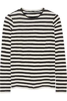 Proenza Schouler – Striped slub cotton top