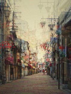 Stéphanie Jung (cliché en surimpression - Japon)
